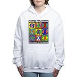 Ribbons Because It Matte Women's Hooded Sweatshirt