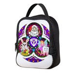 Santa Claus Neoprene Lunch Bag