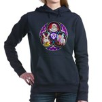 Santa Claus Women's Hooded Sweatshirt
