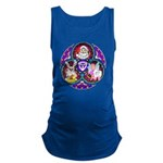 Santa Claus Maternity Tank Top