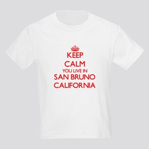 Keep calm you live in San Bruno California T-Shirt