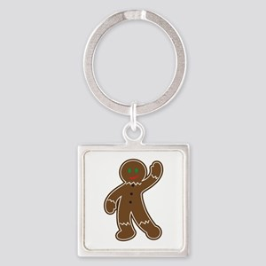 GINGERBREAD APPLIQUE Keychains