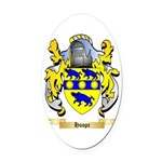 Hoope Oval Car Magnet