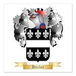 Hooker Square Car Magnet 3