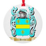 Hooke Round Ornament
