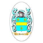 Hooke Sticker (Oval 50 pk)