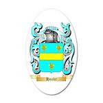 Hooke 35x21 Oval Wall Decal