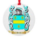 Hook Round Ornament