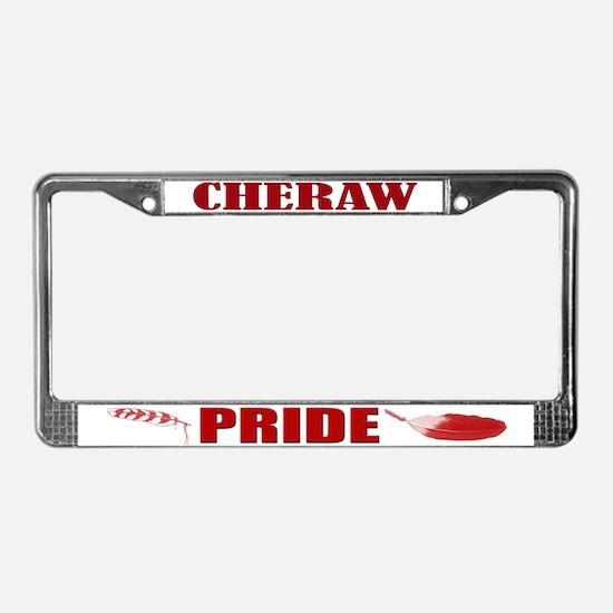Cheraw Pride License Plate Frame