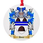 Hony Round Ornament