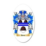 Hony 20x12 Oval Wall Decal
