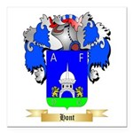 Hont Square Car Magnet 3