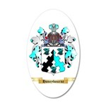 Honeybourne 20x12 Oval Wall Decal