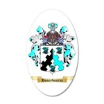 Honeybourne 35x21 Oval Wall Decal