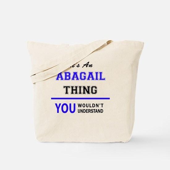 Funny Abagail Tote Bag