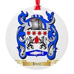Hone Round Ornament