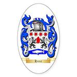 Hone Sticker (Oval 50 pk)