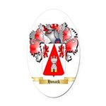 Honack Oval Car Magnet