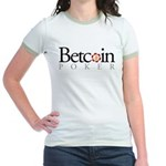 Betcoin Poker Jr. Ringer T-Shirt