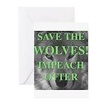 Help Idaho Wolves Greeting Cards (Pk of 10)