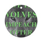 Help Idaho Wolves Ornament (Round)