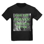 Help Idaho Wolves Kids Dark T-Shirt