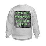 Help Idaho Wolves Kids Sweatshirt