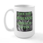 Help Idaho Wolves Large Mug