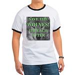 Help Idaho Wolves Ringer T