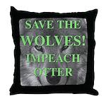 Help Idaho Wolves Throw Pillow