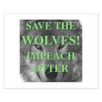 Help Idaho Wolves Small Poster