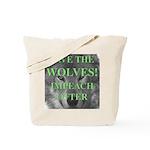Help Idaho Wolves Tote Bag