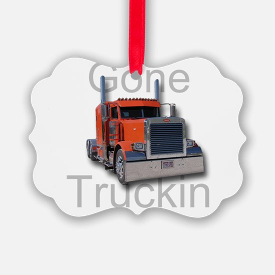 Gone Truckin Ornament