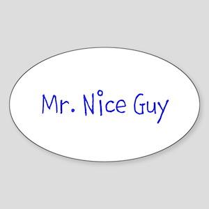 Mr. Nice Guy Sticker