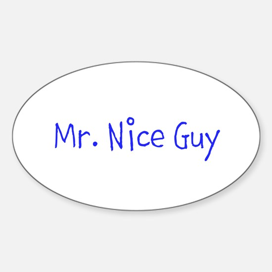 Mr. Nice Guy Decal