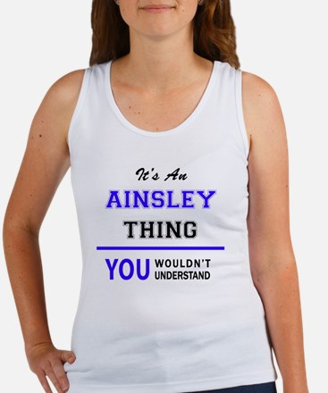 Cute Ainsley Women's Tank Top