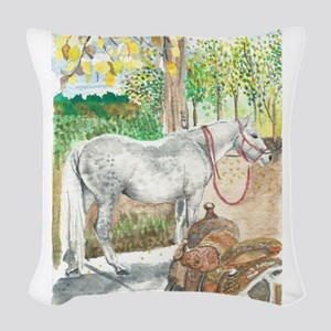 Waiting for Cookies Woven Throw Pillow
