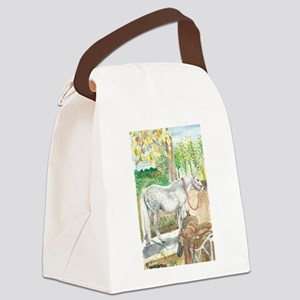 Waiting for Cookies Canvas Lunch Bag