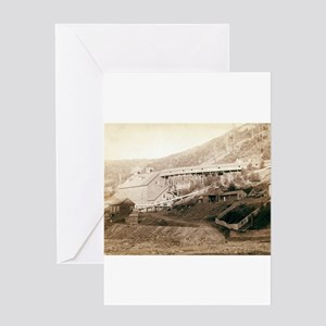 Large Mill - John Graybill 1880 Greeting Card