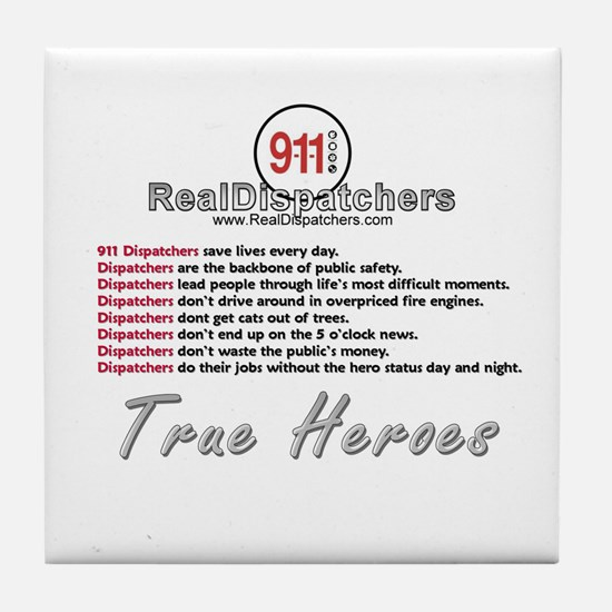 What Is A Real Dispatcher Tile Coaster