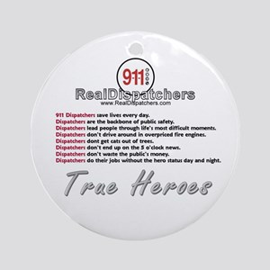 What Is A Real Dispatcher Ornament (Round)