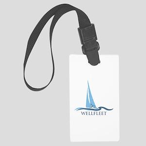 Wellfleet - Cape Cod Massachuset Large Luggage Tag
