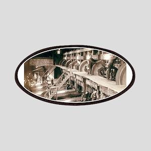 Saw Mill Interior - John Graybill - 1890 Patch