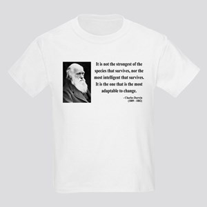 Charles Darwin 6 Kids Light T-Shirt