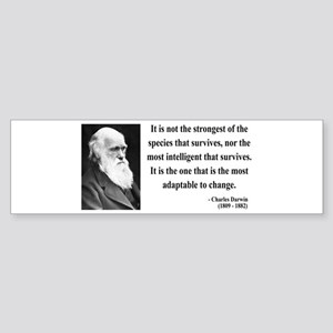 Charles Darwin 6 Bumper Sticker