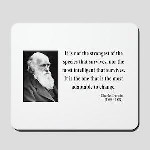 Charles Darwin 6 Mousepad