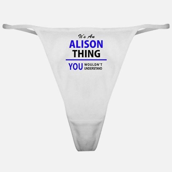 Cool Alison Classic Thong