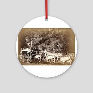 Black Hills treasure coach - John Grabill - 1887 R