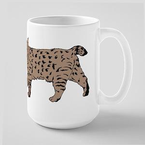 Pixie-Bob (color) Large Mug