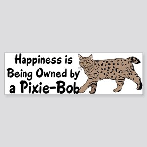 Pixie-Bob (color) Bumper Sticker